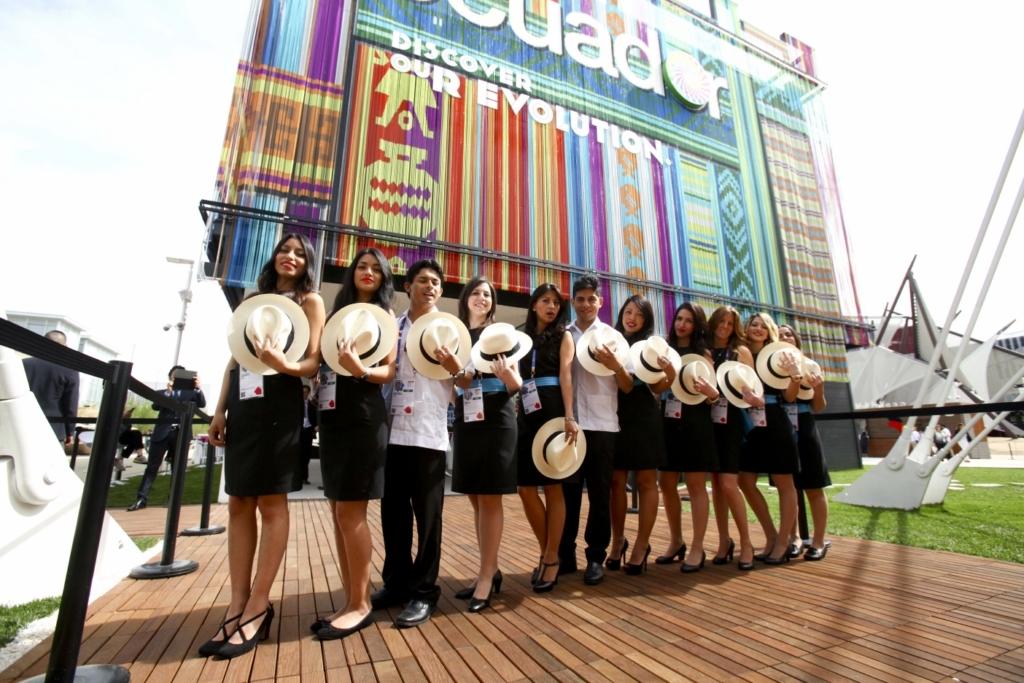 Expo Milano Stand Ecuador : Expo inaugurati i padiglioni di ecuador e belgio