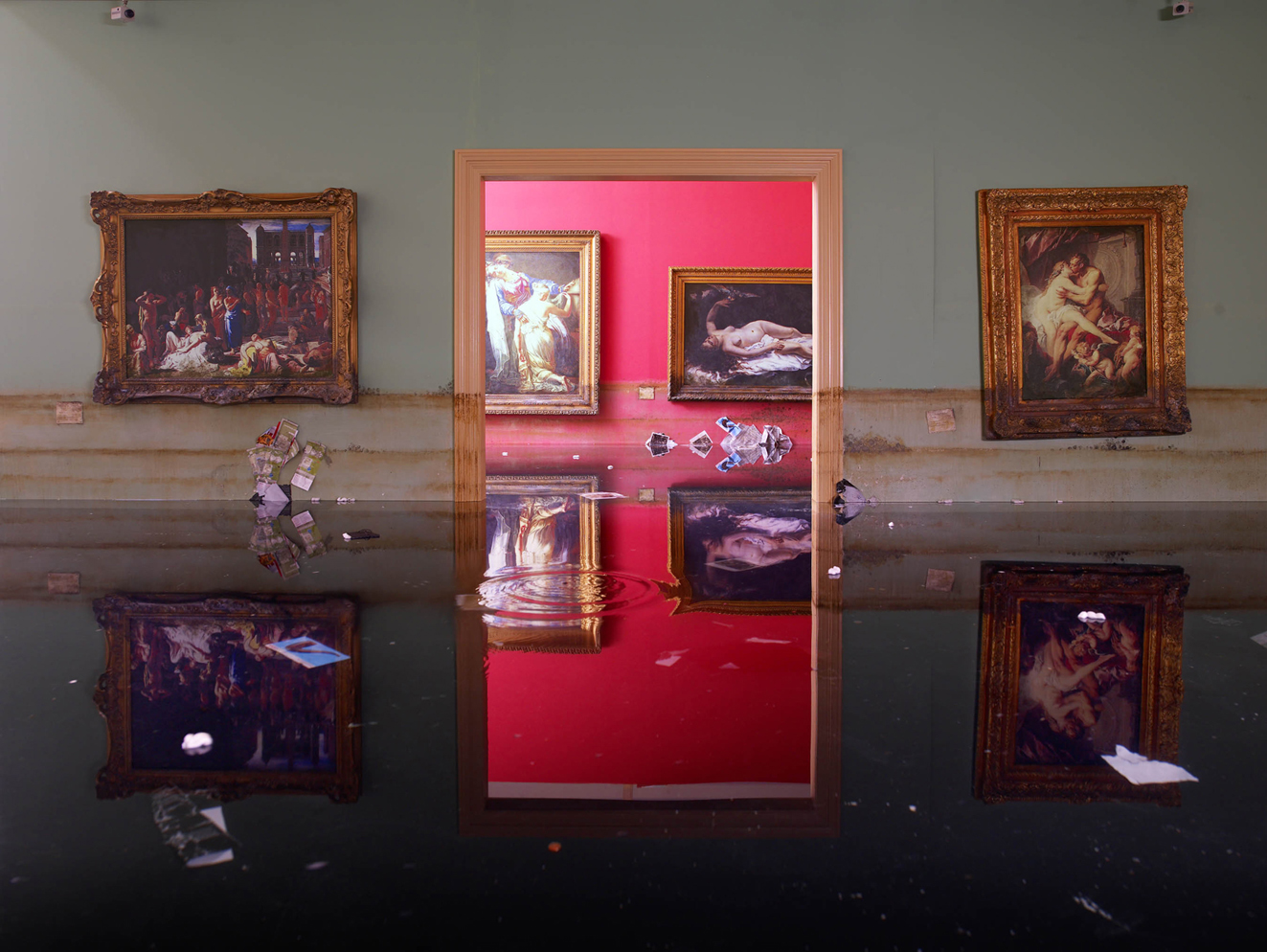 David lachapelle dopo il diluvio la mostra a roma for Mostra palazzo delle esposizioni
