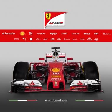 Ferrari SF16-H: presentata la nuova monoposto per il Mondiale F1 [IMMAGINI]