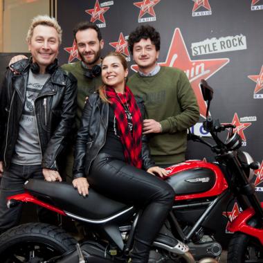"""""""Vinci uno Scrambler Ducati con Virgin Radio!"""": premiata la foto più bella del contest on-line"""
