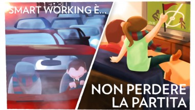 MN Italia racconta lo smart working con una campagna social coinvolgente