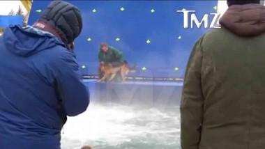 Qua La Zampa: il video del pastore tedesco maltrattato e costretto a buttarsi in acqua