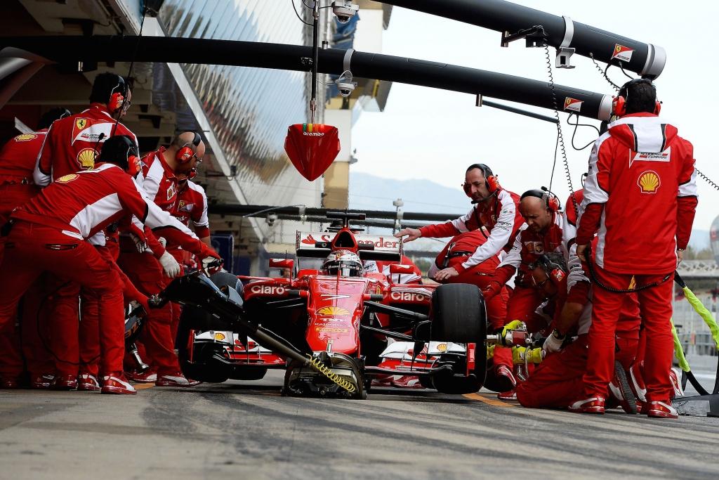TEST F1 BARCELLONA 2015