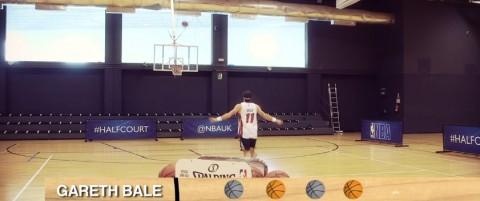 Gareth Bale emoziona anche in veste di giocatore NBA [Immagini e Video]