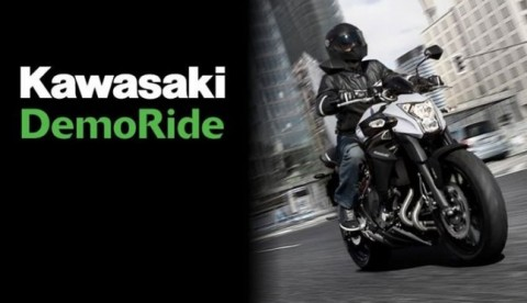 Al via i Demo Ride Kawasaki