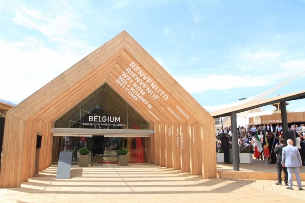 Expo 2015 inaugurati i padiglioni di ecuador e belgio for Inquadratura del tetto del padiglione