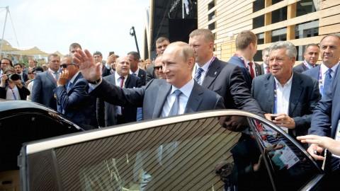 Expo 2015: le immagini di Putin a Milano per il National Day della Russia [VIDEO]