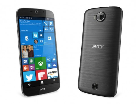 CES 2016: ACER LIQUID JADE PRIMO smartphone Windows 10 Mobile