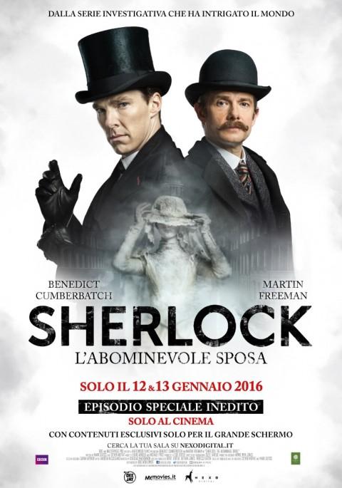 """Il trailer di Sherlock """"l'abominevole sposa"""" al cinema il 12 e 13 gennaio"""