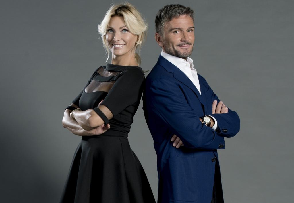 Federica Fontana e Alessandro Bonan