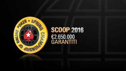 PokerStars: torna lo SCOOP con montepremi di €2.650.000