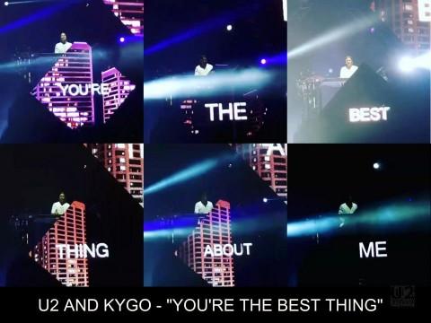 "U2 feat Kygo – ""You' re The Best Thing"" lyrics e audio del nuovo pezzo di Bono & Co"