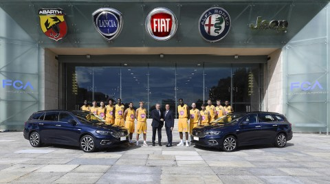 Fiat è title sponsor di Auxilium Torino
