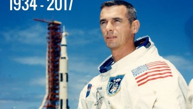Addio Eugene Cernan, l'ultimo uomo sulla Luna