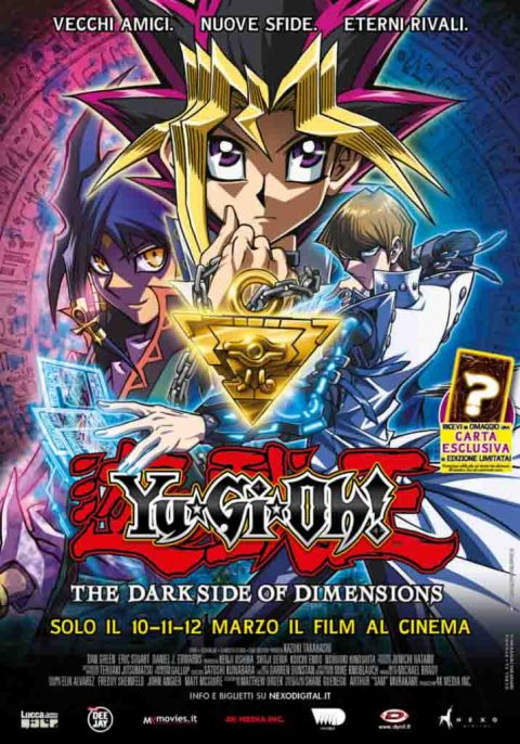 Il trailer di Yu Gi Oh! Il film The Dark Side of Dimensions al cinema a Marzo