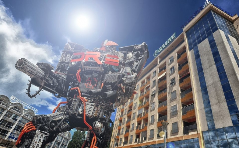 TRANSFORMERS ART: dal 3 marzo la mostra dei robot di Danilo Baletic