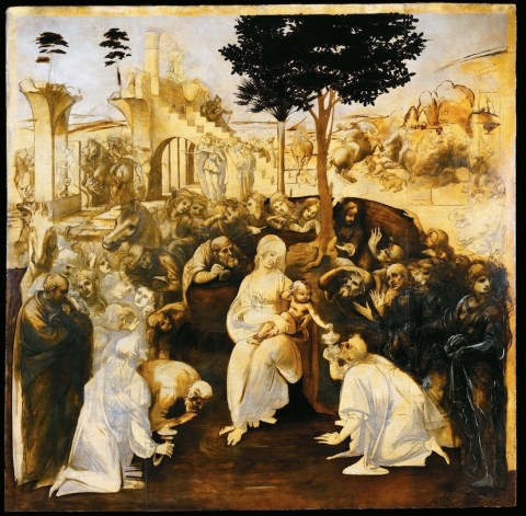 L'Adorazione dei Magi di Leonardo è tornata a casa [IMMAGINI]