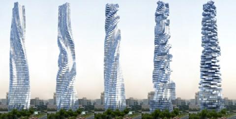 Dubai vuole costruire un grattacielo che gira su se stesso [VIDEO]