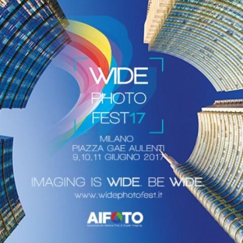 Wide Photo Fest in Piazza Gae Aulenti a Milano dal 9 all' 11 Giugno